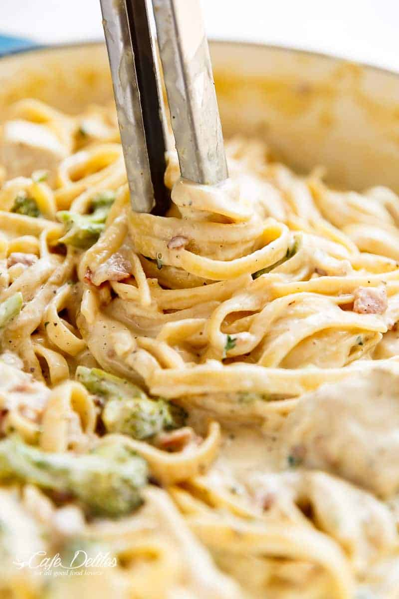 The Sauce, Like A Lot Of My Low Fat Creamy Sauces, Is Made With Milk  Instead Of Cream So, With The Pasta Being Cooked In The Same Pot As The  Sauce,