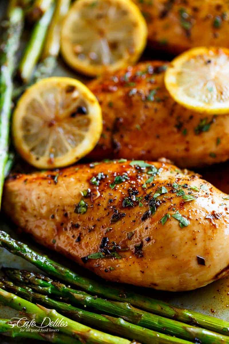 The Perfect Flavour Combination Honey Lemon Garlic Soy Combined With The Dietary Benefits Of Asparagus