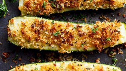 Stuffed Zucchini Cafe Delites