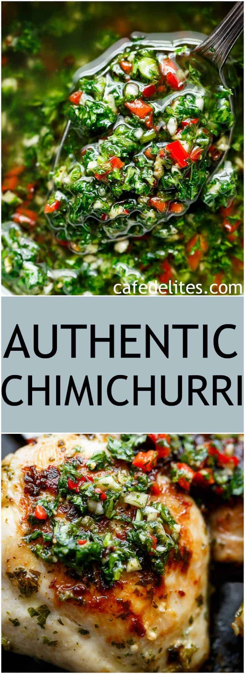 Authentic Chimichurri (Uruguay & Argentina) - Cafe Delites