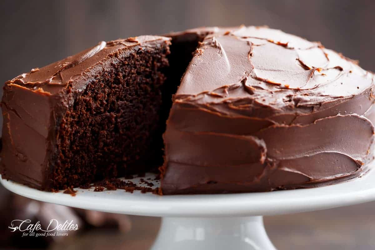 Cholesterol Free Chocolate Cake