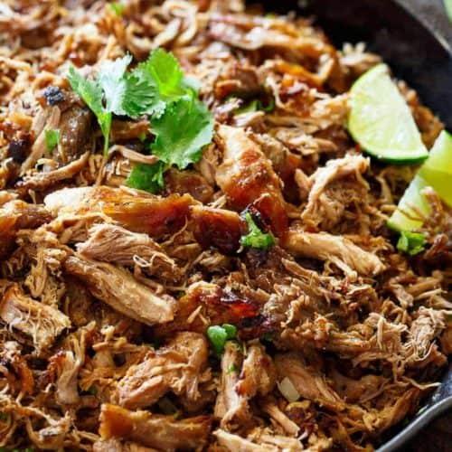 Healthy & Crispy Pork Carnitas