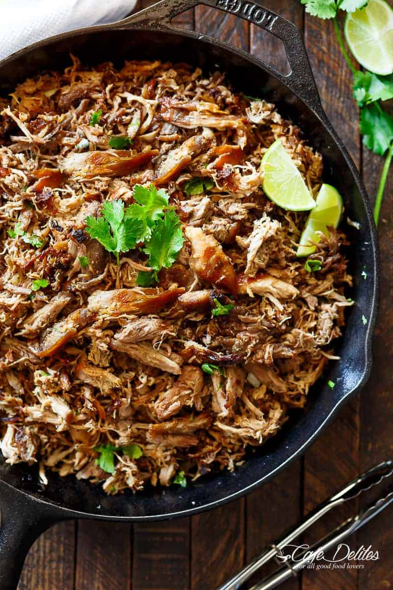 Crispy Pork Carnitas (Mexican Slow Cooked Pulled Pork ...