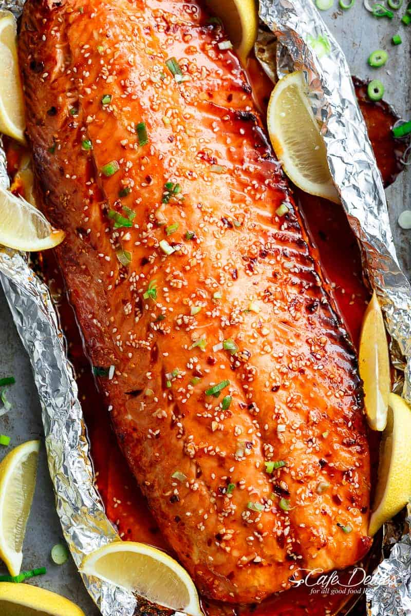 Baked Salmon Recipe: 30-Minute Sesame Salmon With a Kick Baked Salmon Recipe: 30-Minute Sesame Salmon With a Kick new picture