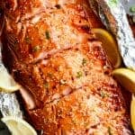Easy Honey Sesame Salmon In Foil