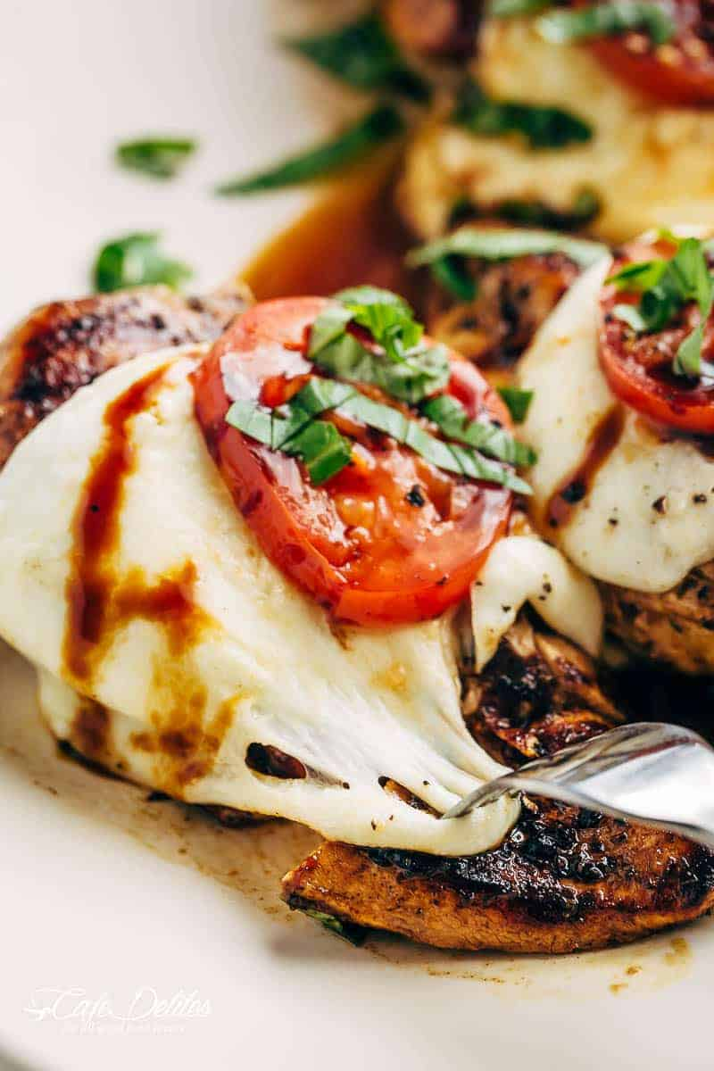 grilled chicken mozzarella