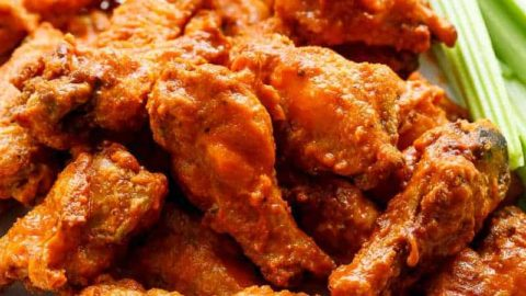 Crispy buffalo chicken wings baked cafe delites forumfinder Image collections
