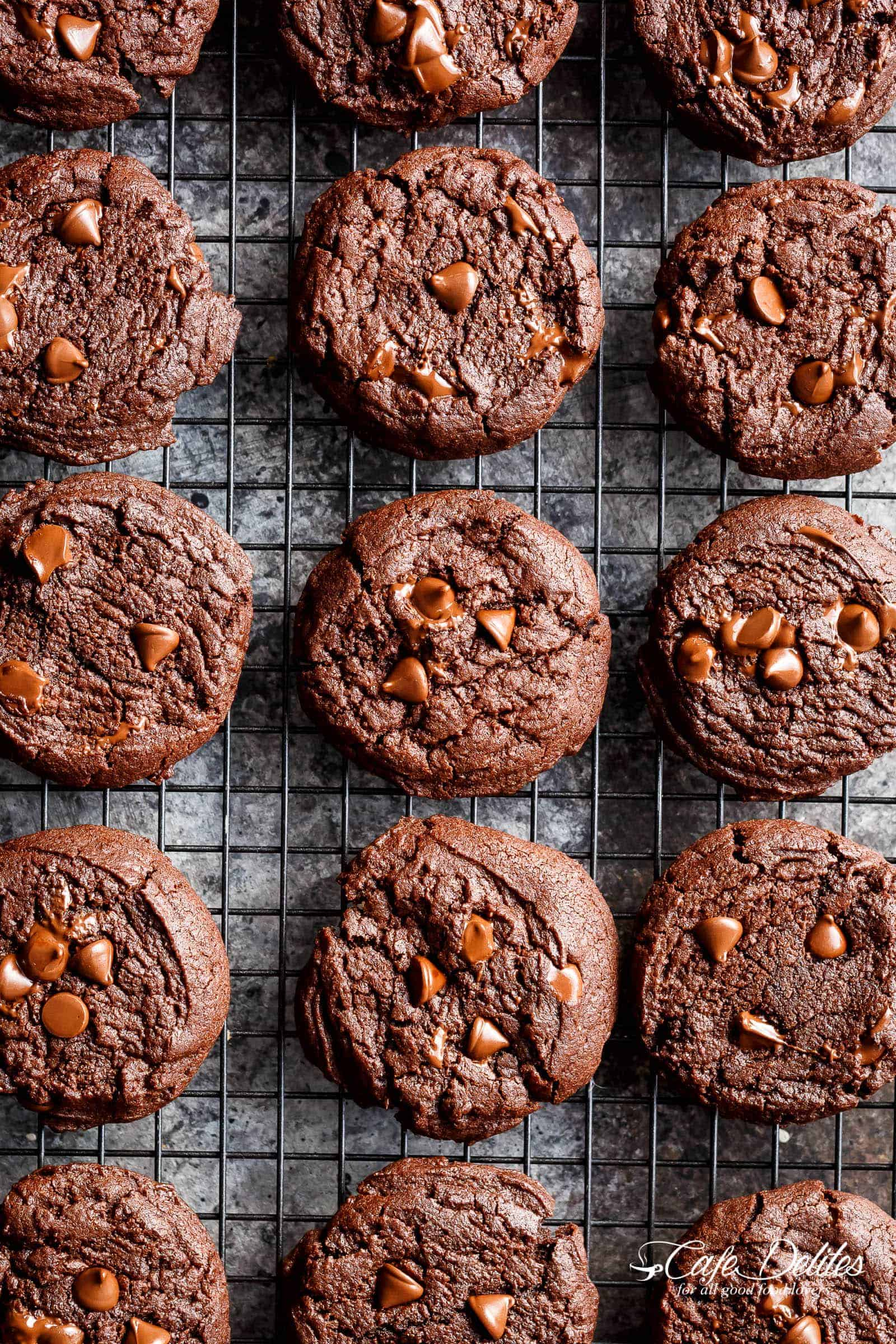 Best Fudgy Chocolate Brownie Cookies are a one bowl wonder ready in minutes, and named better than a brownie cookie! They disappear in seconds!