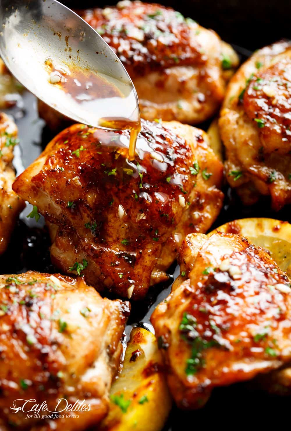 Amazing Browned Butter Honey Garlic Chicken