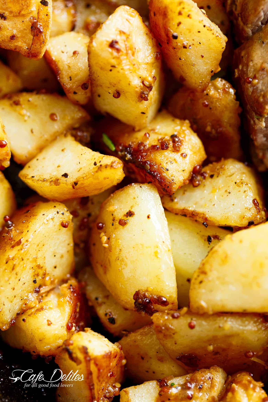 Dijon Garlic Pork Tenderloin Amp Veggies Cafe Delites