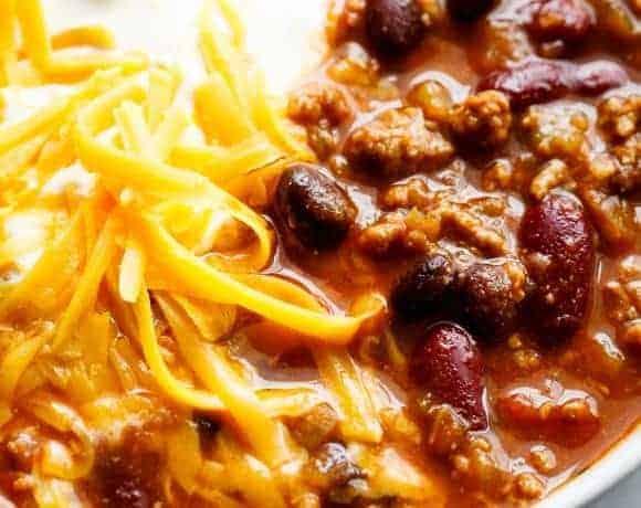Beef & Bean Jalapeño Chili