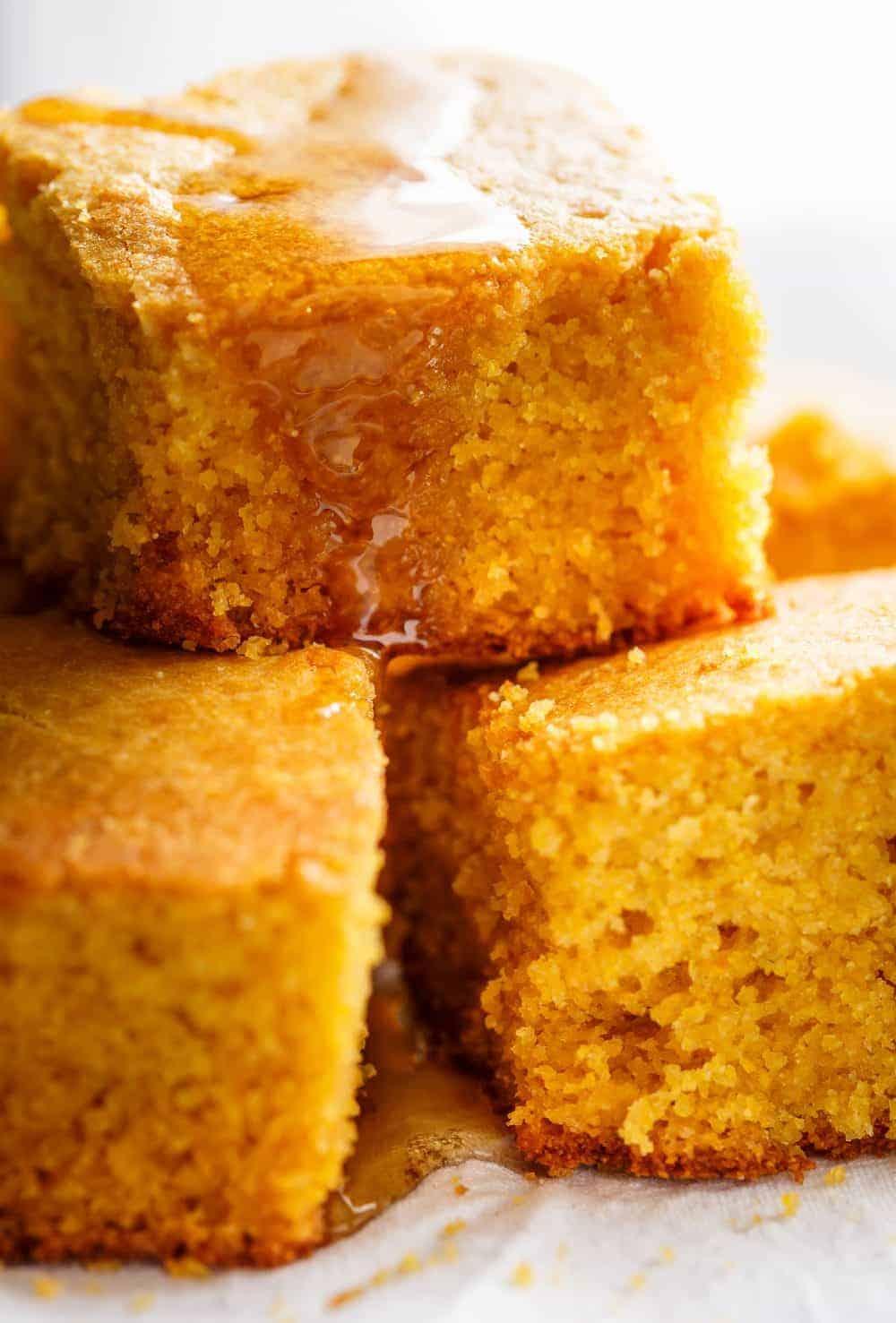Easy Buttermilk Cornbread (Best Sweet Cornbread)