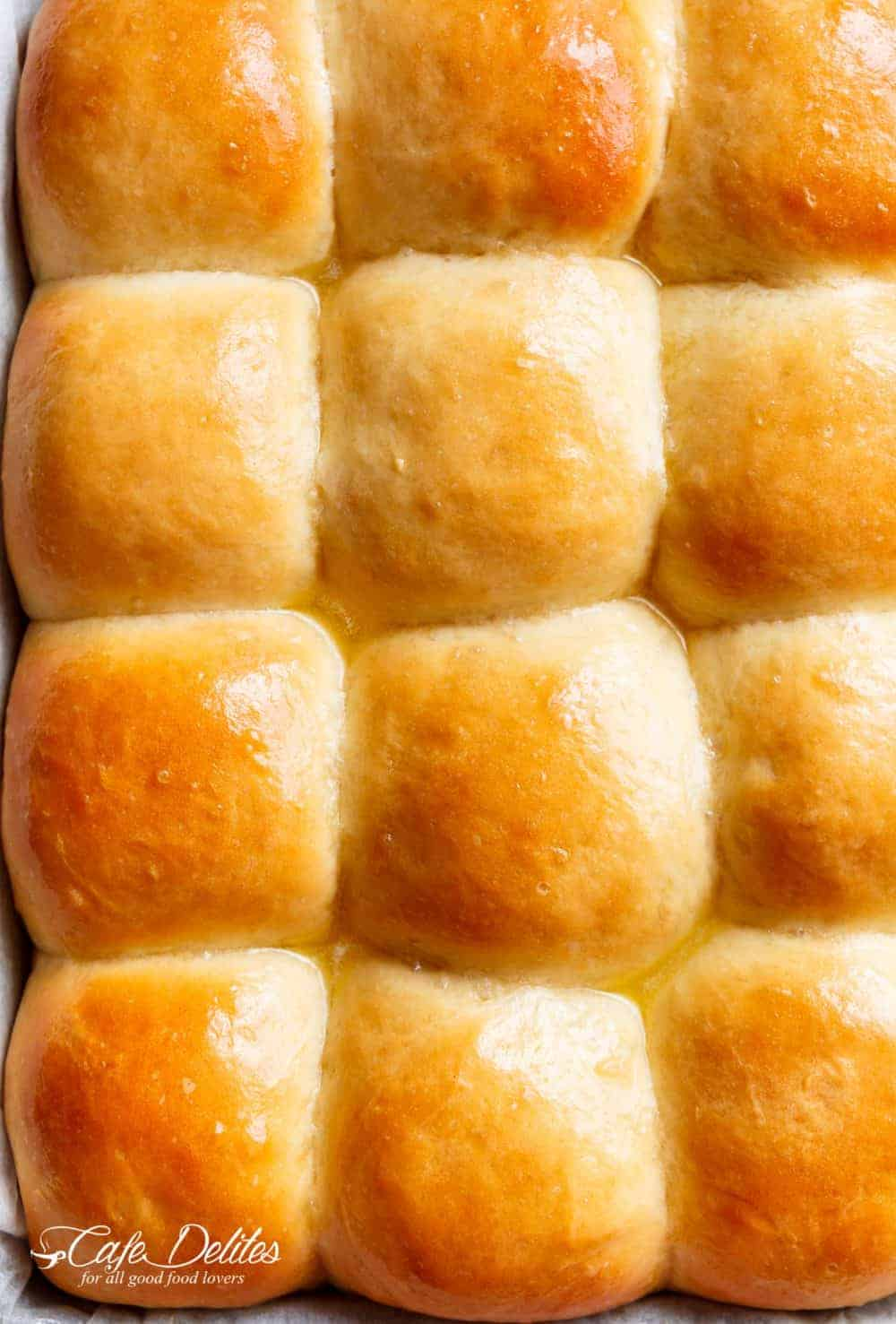 Easy Soft Dinner Rolls (NO MIXER + EGG FREE)