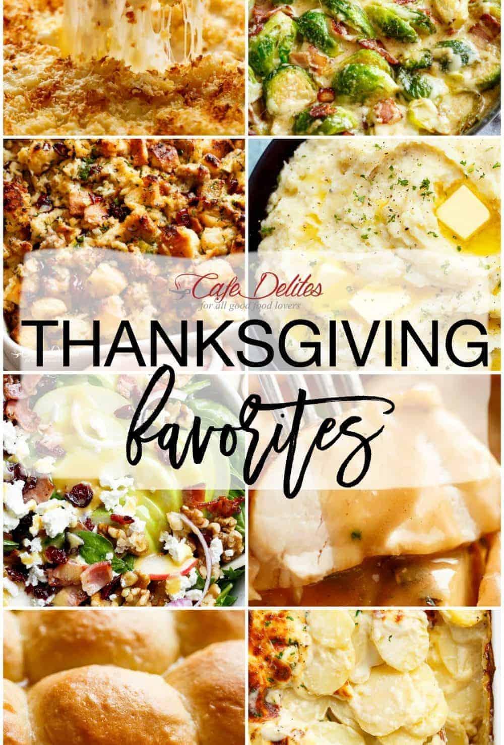 Easy Thanksgiving Favorite Recipes!