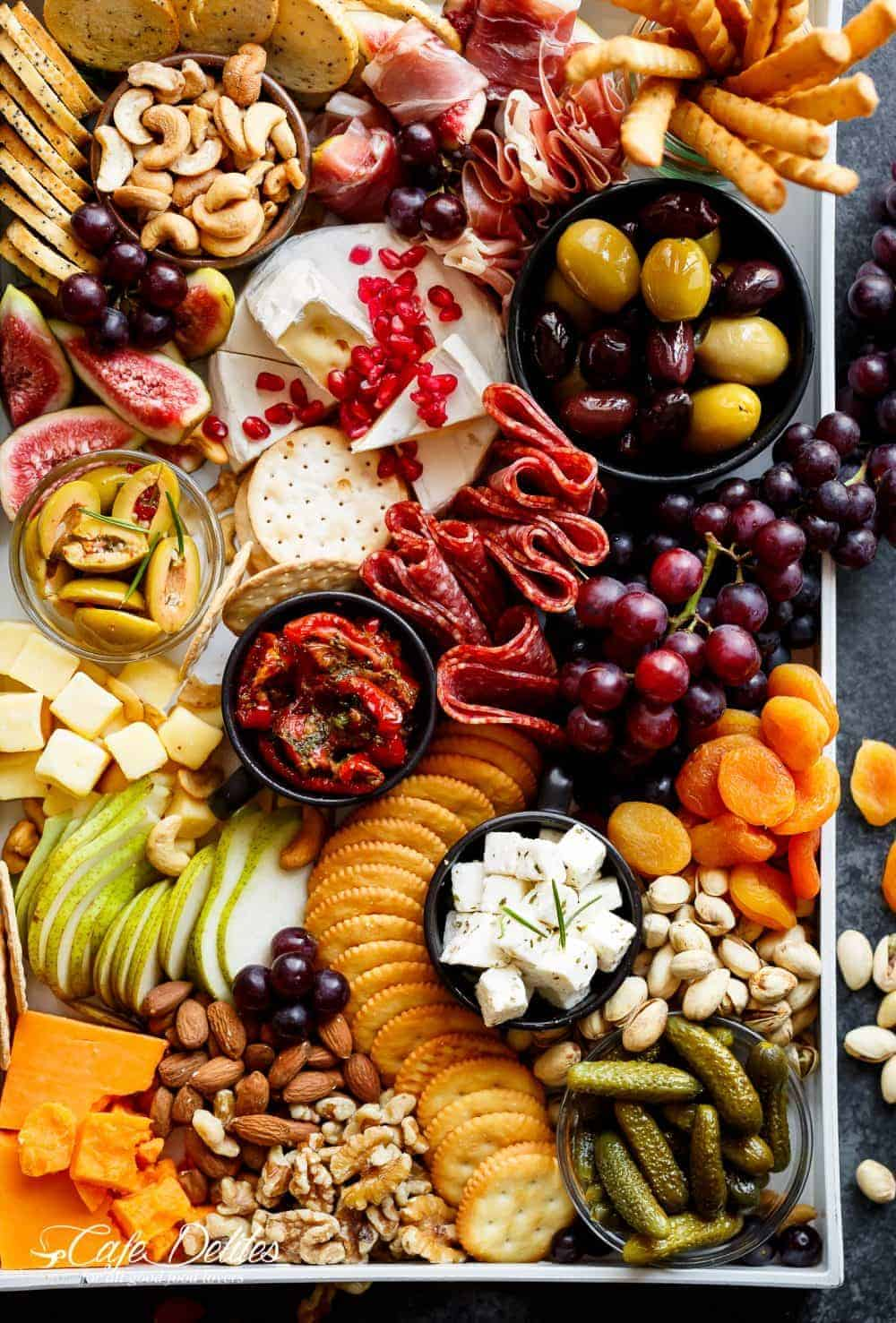 Loaded Thanksgiving Cheeseboard