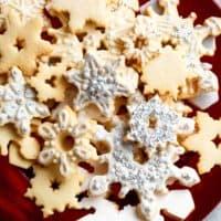 Christmas Sugar Cookies Recipe | cafedelites.com