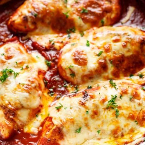 Easy-Mozzarella-Chicken | cafedelites.com