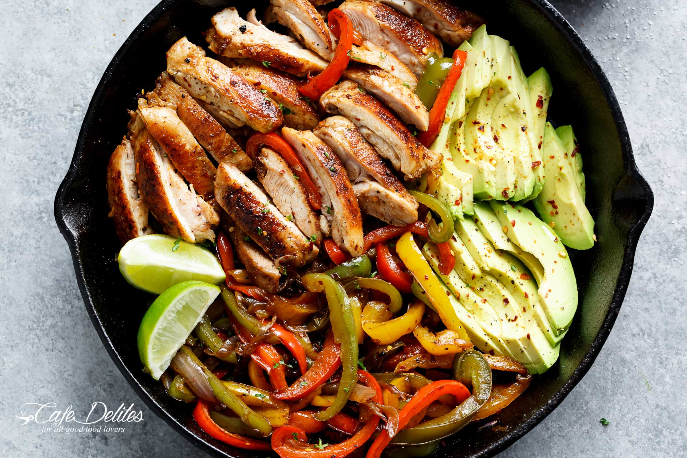 Best Chicken Fajitas Cafe Delites