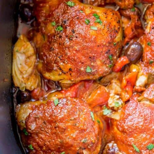 Slow cooker mediterranean chicken cafe delites forumfinder Images