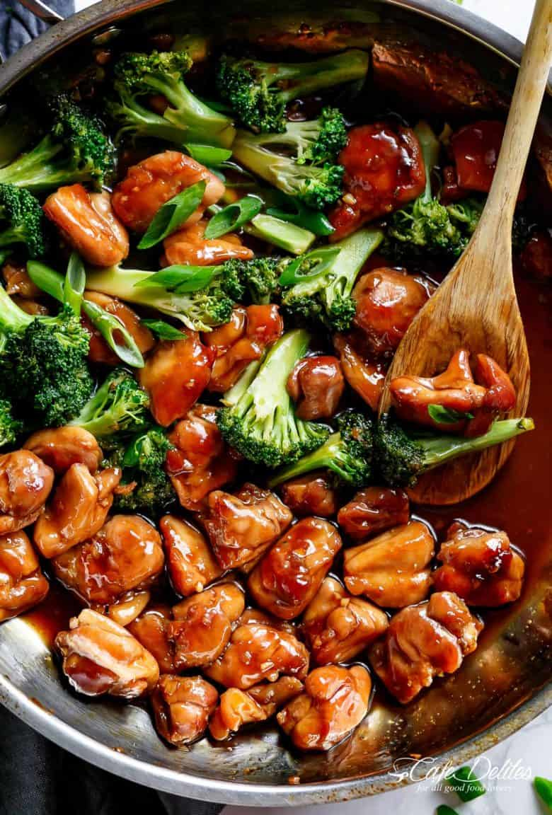 Best Teriyaki Chicken Recipe | cafedelites.com