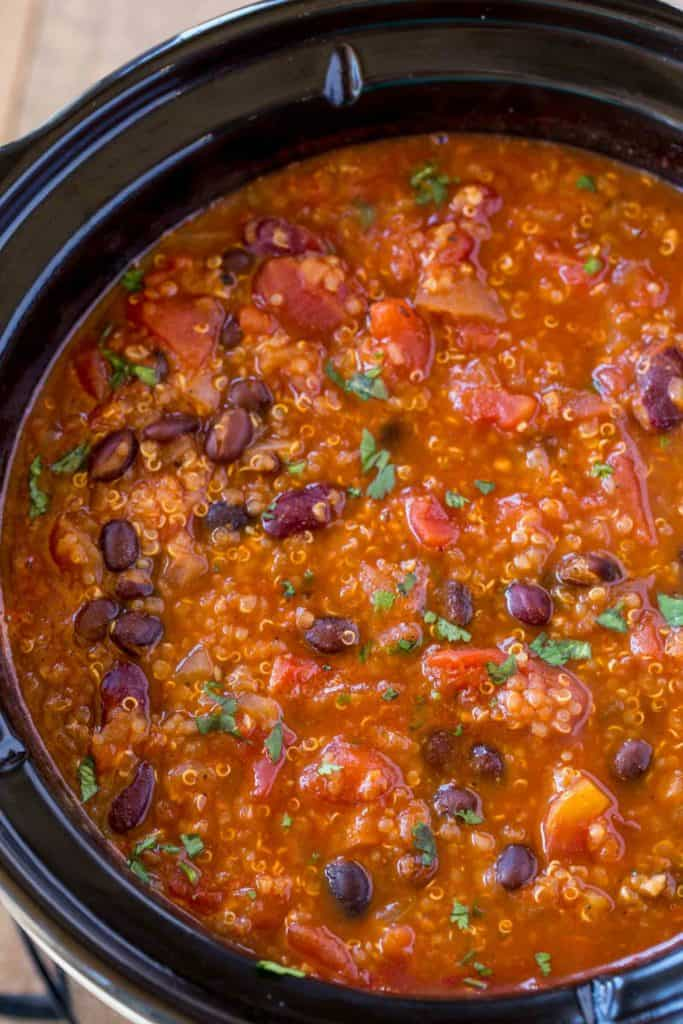 easy thick crockpot chili recipe