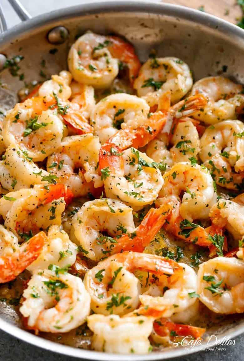 Garlic Butter Shrimp Scampi