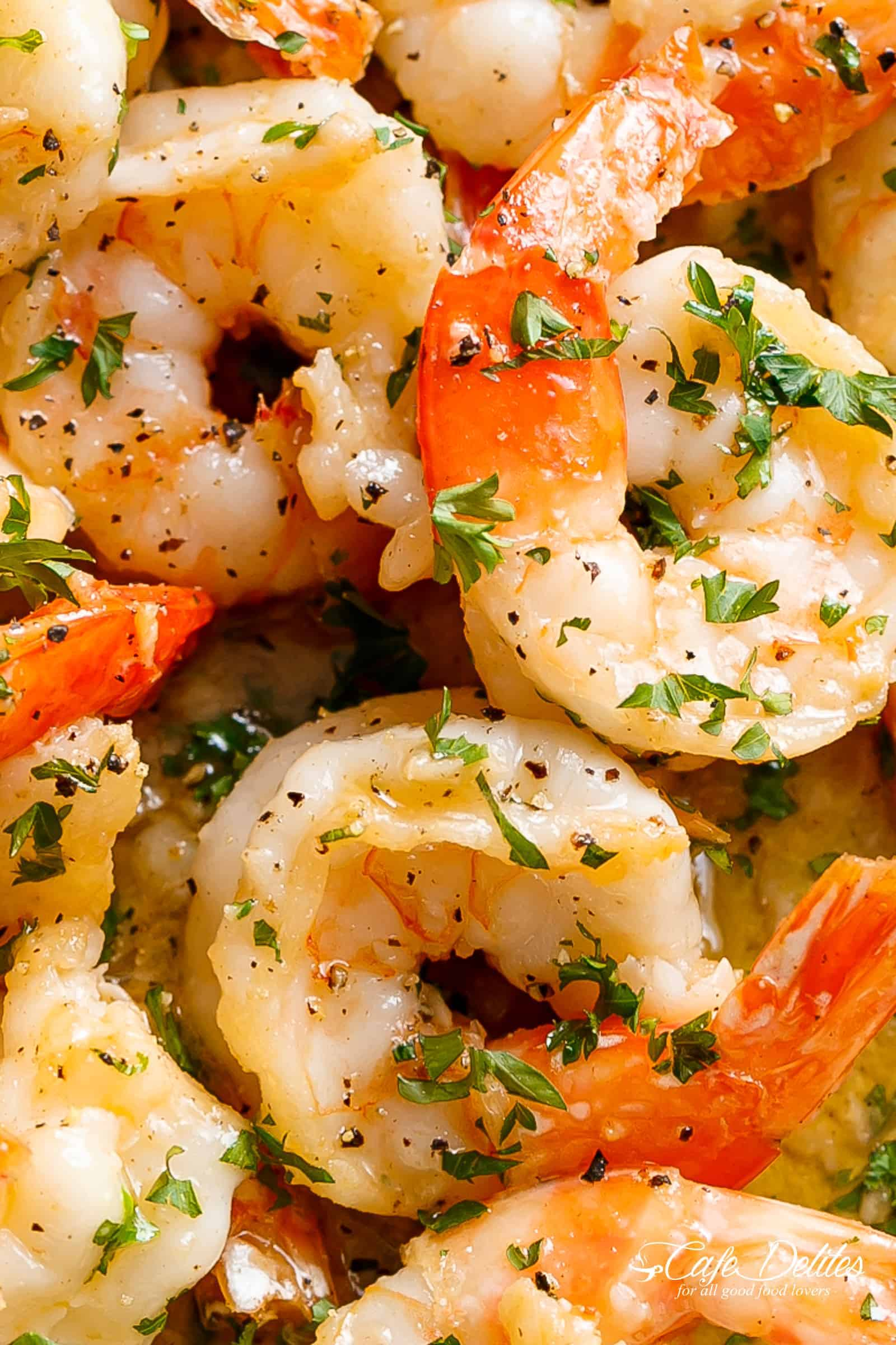 Garlic butter shrimp scampi cafe delites garlic butter shrimp scampi can be serve as an appetizerlight meal or for dinner forumfinder Gallery