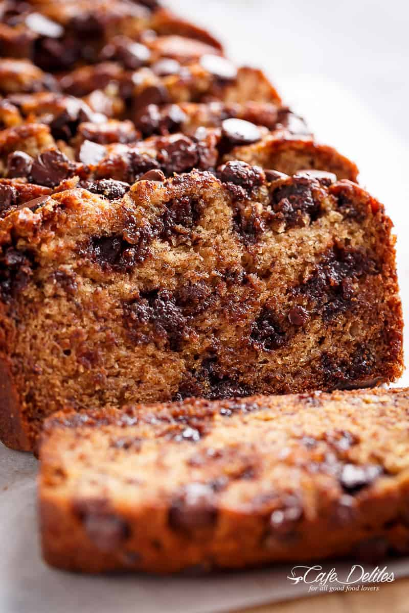 Banana bread recipe | cafedelites.com