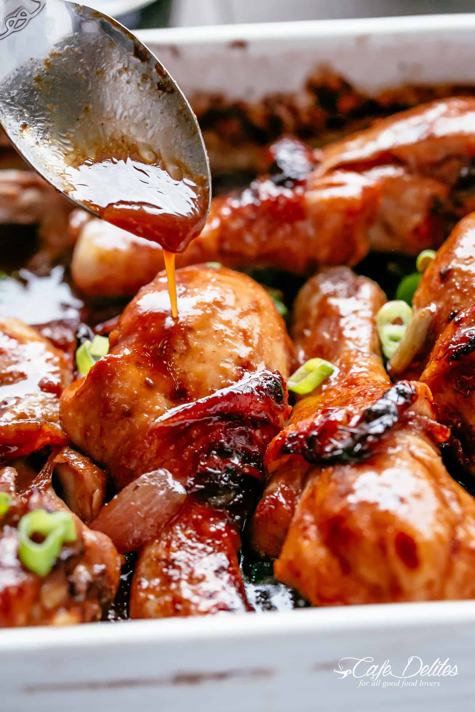 Chicken Drumsticks packed with so much flavour | https://cafedelites.com
