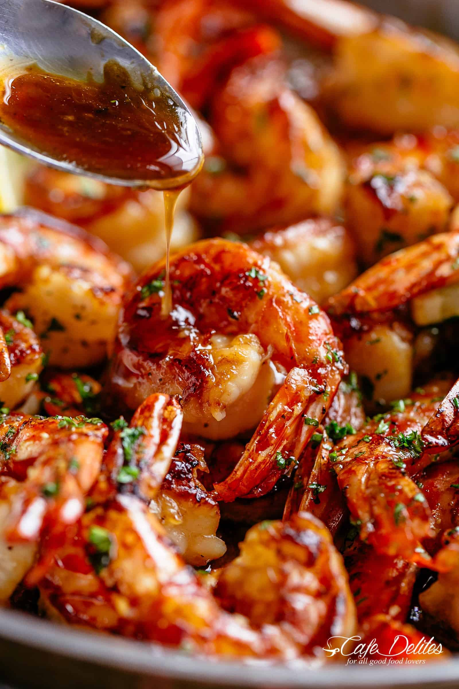 Buttery Honey Garlic Shrimp