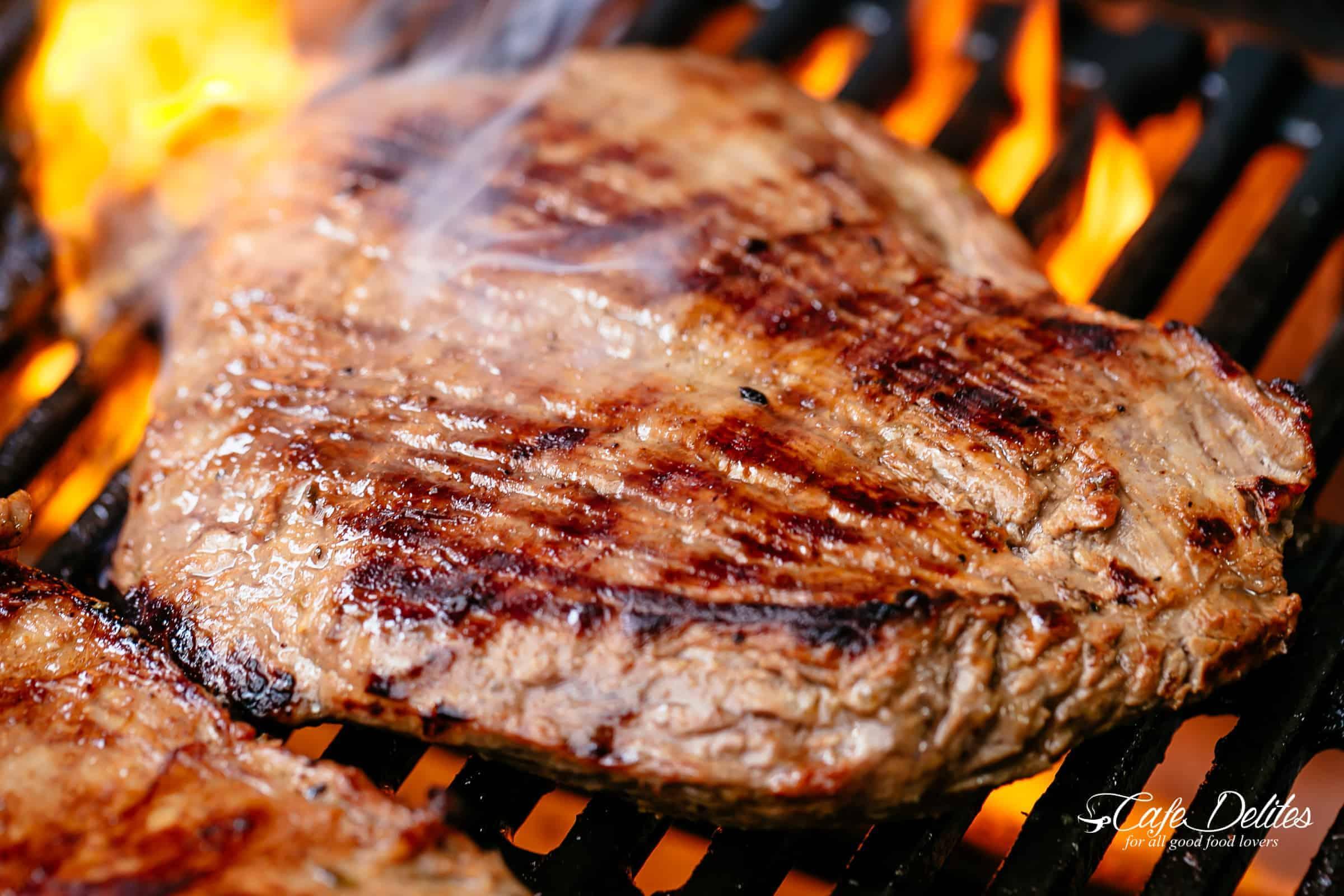 Grill or Barbecue Carne Asada | cafedelites.com