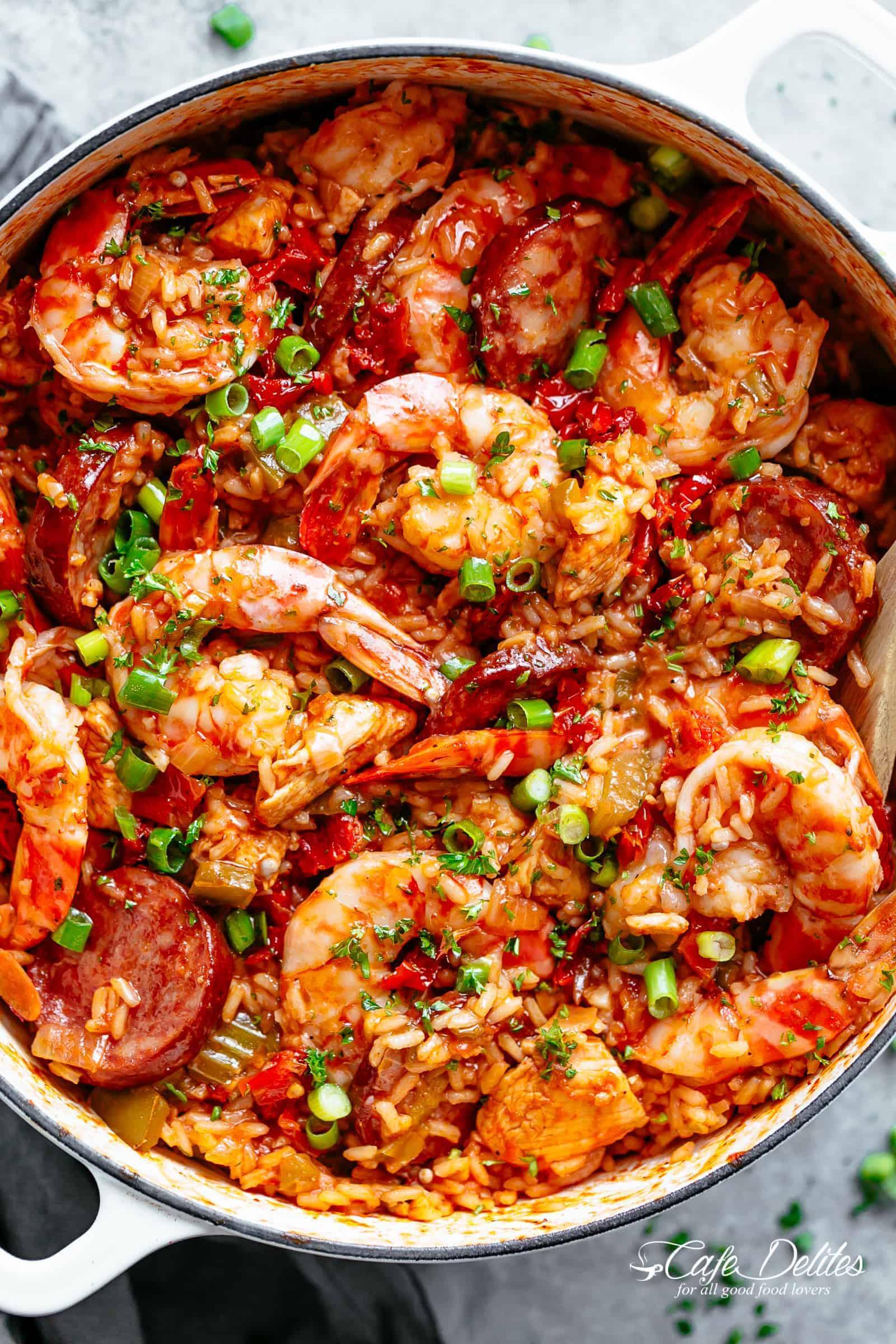 Jambalaya Recipe (Creole)