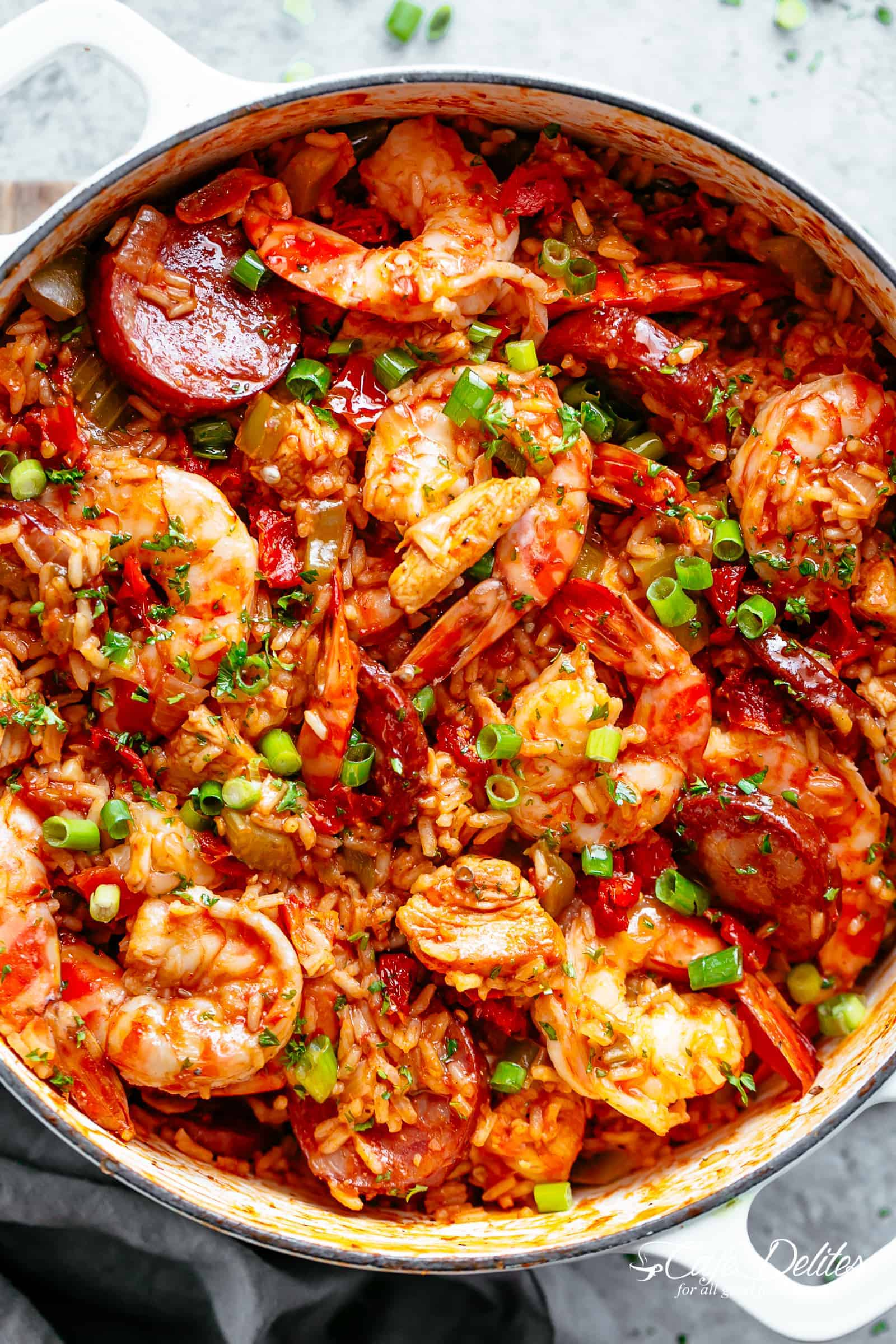 Jambalaya cafe delites an authentic creole jambalaya recipe a delicious one pot meal coming to you from forumfinder Images
