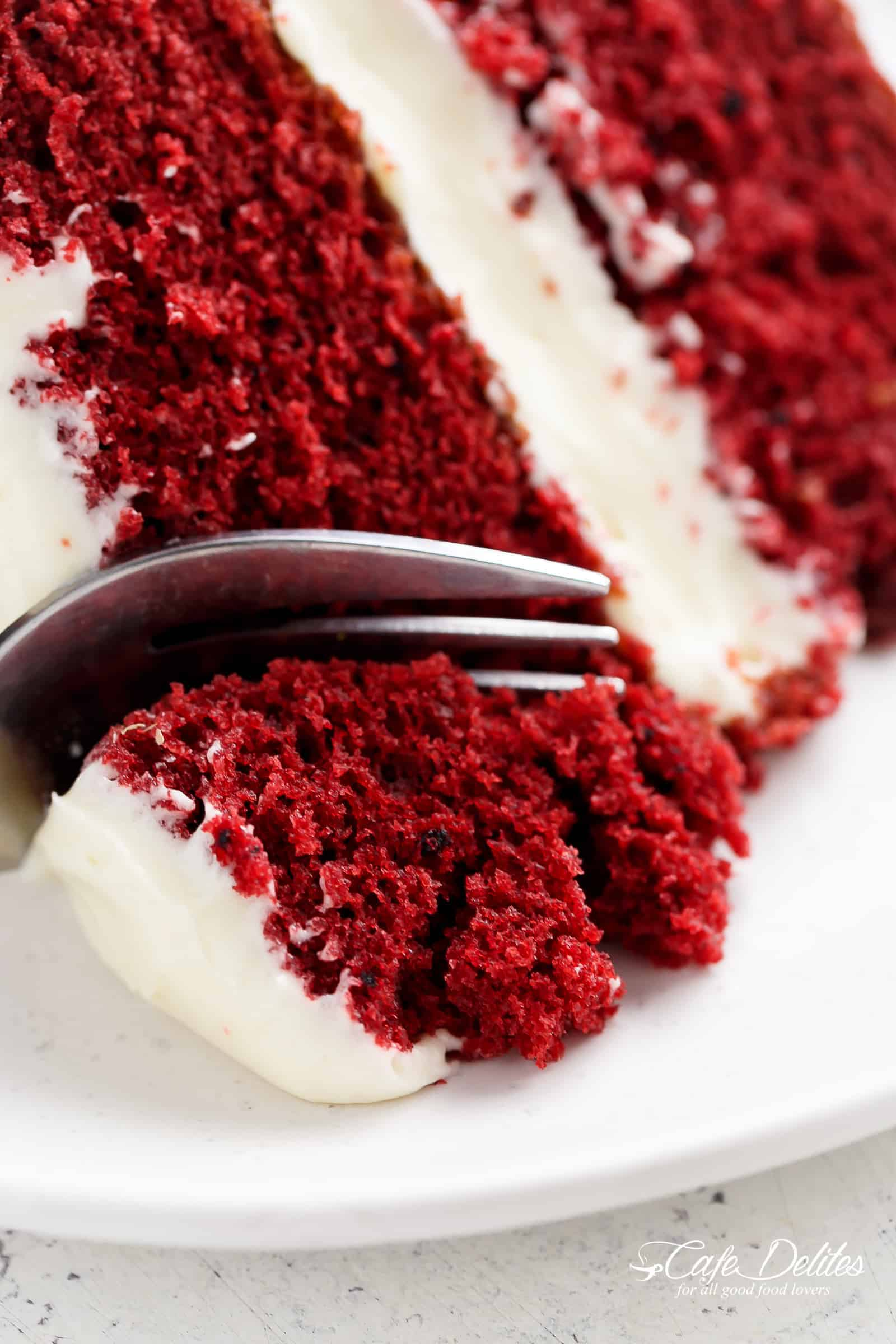 Best Red Velvet Cake Cafe Delites