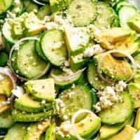 Salade de concombre | cafedelites.com