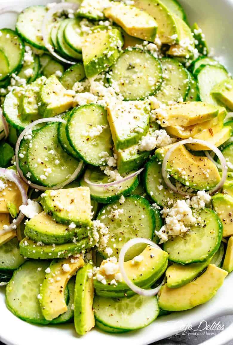 Cucumber Salad | cafedelites.com