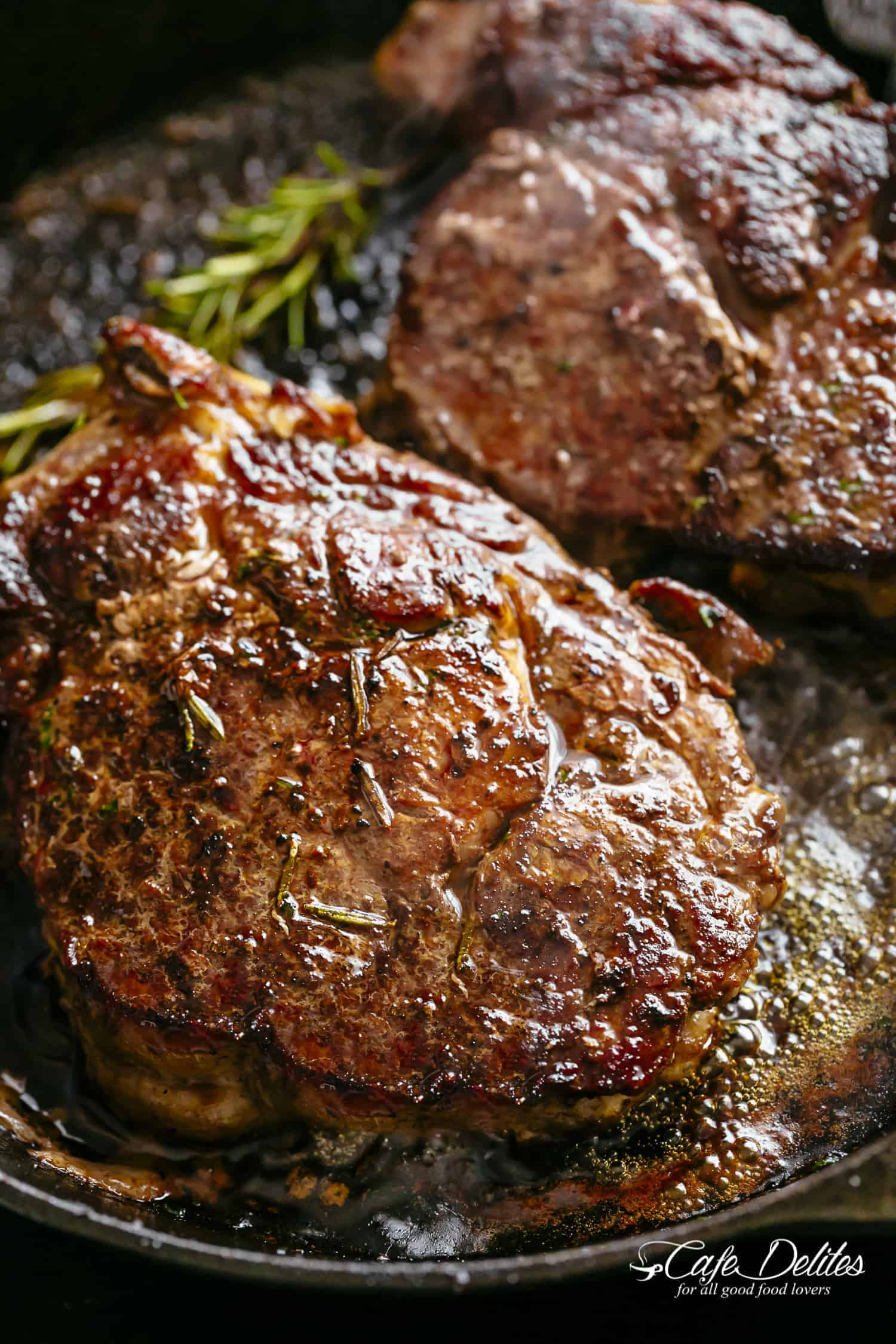 Steakhouse Steak | cafedelites.com