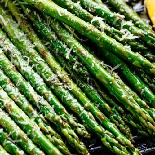 Grilled Asparagus | cafedelites.com