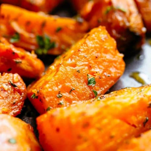 Roasted Yams: Roasted Sweet Potatoes