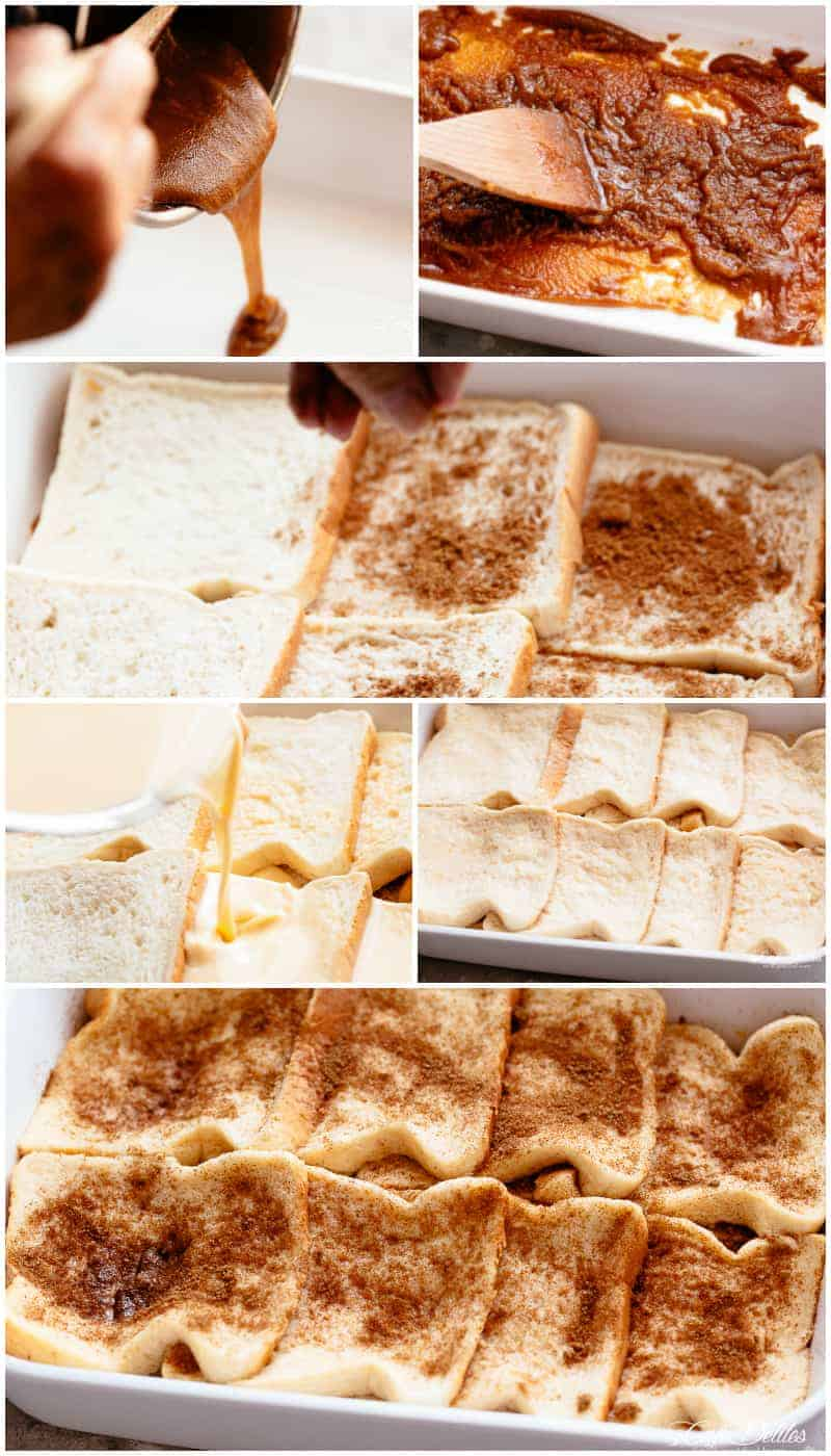 How To Make French Toast Casserole | cafedelites.com