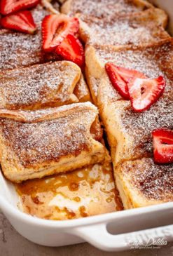 French Toast Casserole | cafedelites.com