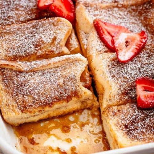 French Toast Casserole | cafedelites.com