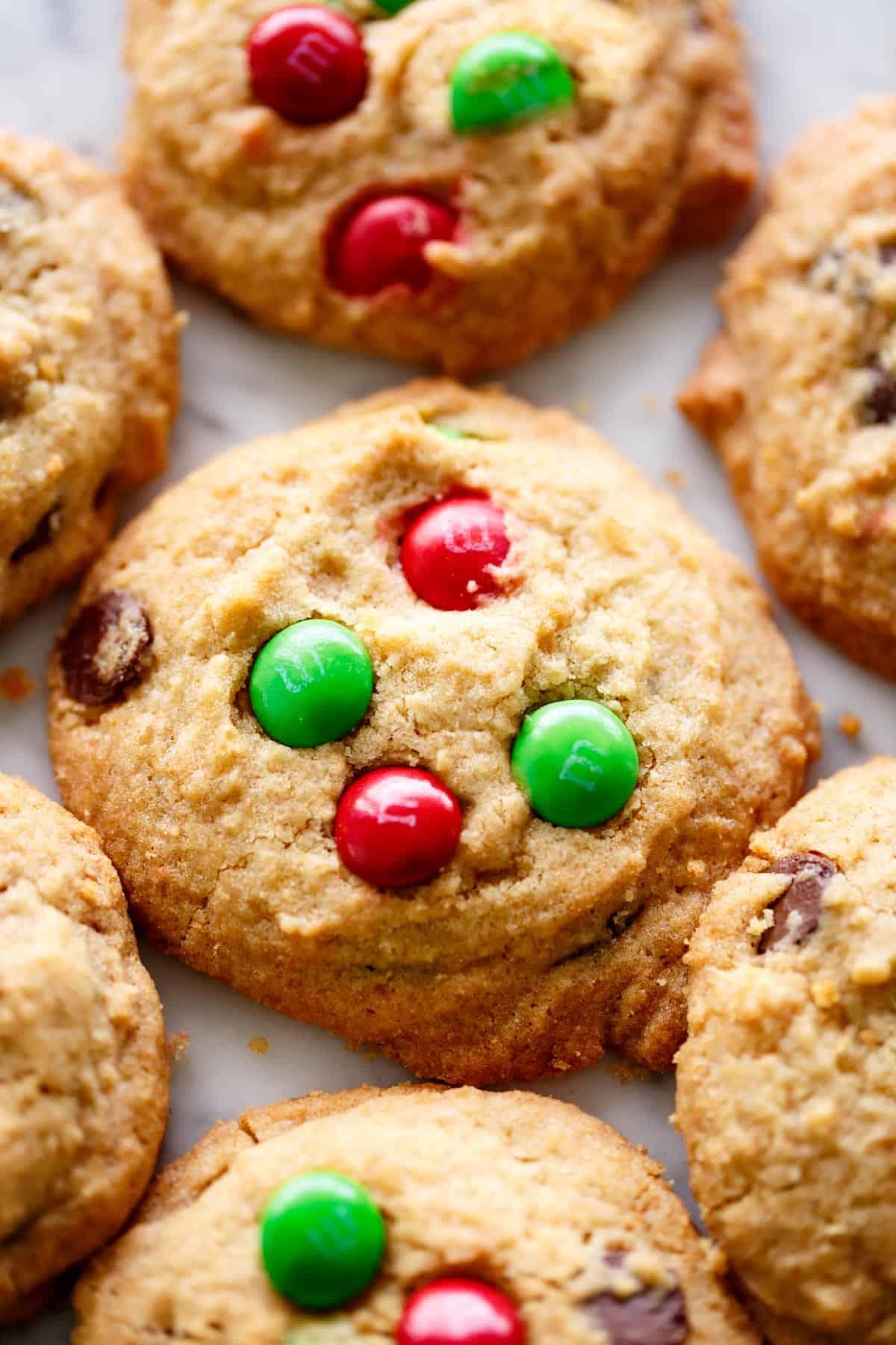 M M Cookies Christmas Cookies Cafe Delites