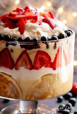 Strawberry Trifle | cafedelites.com