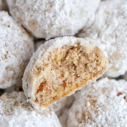 Snowball Cookies Mexican Wedding Cookies | cafedelites.com