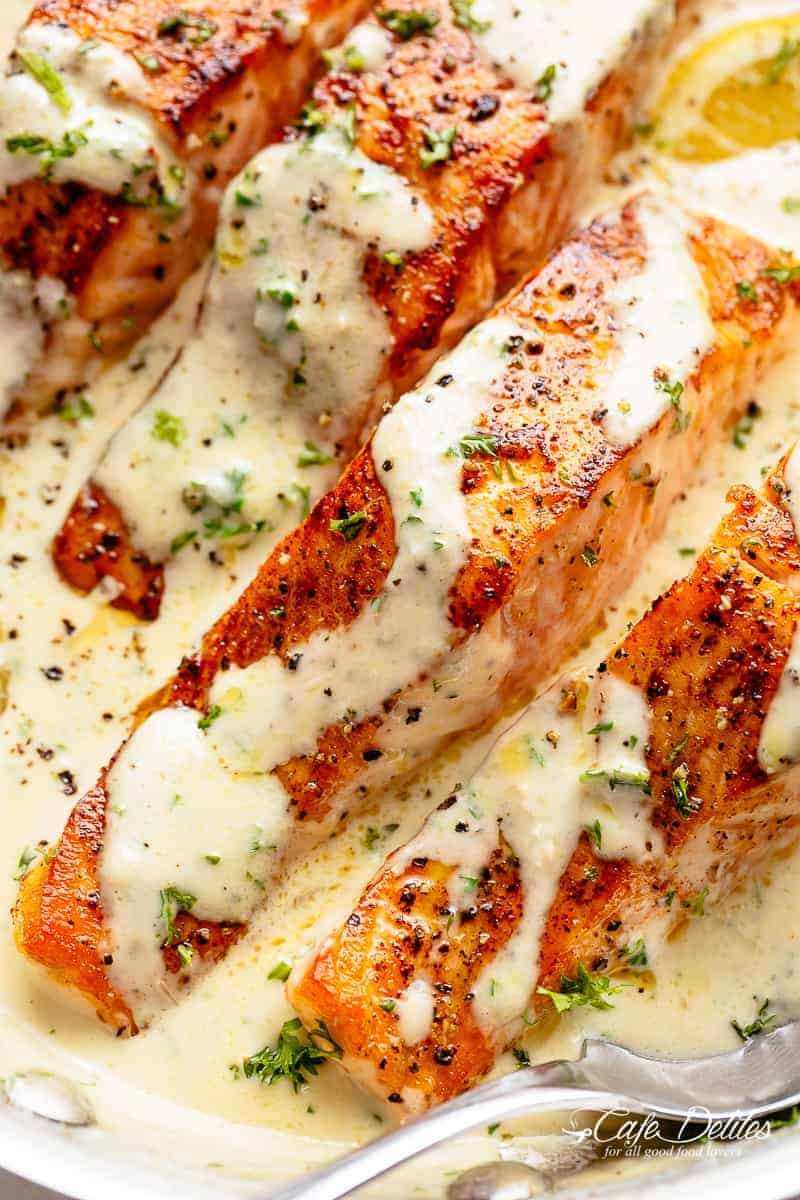 How to Cook Salmon | cafedelites.com