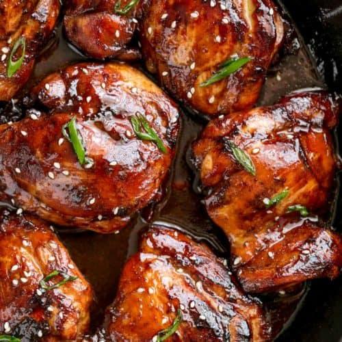 WW Baked Chicken Thighs