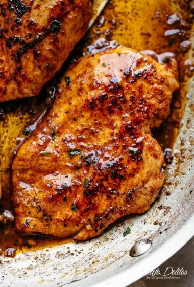 Cajun Butter Chicken Breasts | CAFEDELITES.COM
