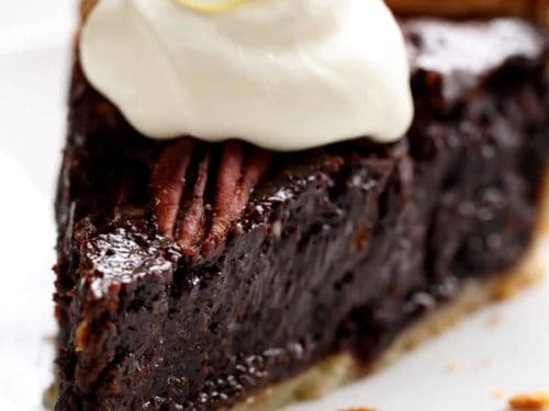 Chocolate Pecan Pie | cafedelites.com