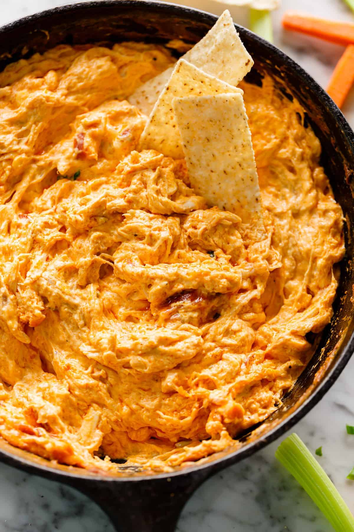 Buffalo Chicken Dip Cafe Delites